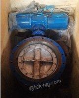 东岳能源厂出售二手气动蝶阀4台,D643H-2.5