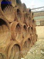 高价回收架子管工字钢盘螺盘圆钢筋等工地建筑剩余钢材