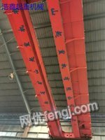 二手重型起重机 50吨电动双梁起重机