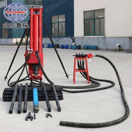 供应KQZ-100 纯气动潜孔钻机 山地爆破打孔设备 方便搬运