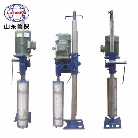 供应鲁探钢筋混凝土钻孔取芯机HZD-L三相电立式工程水磨钻机