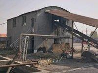 山东枣庄出售洗煤设备一套,压滤机,浮选柱,四平方呼吸板洗煤机等