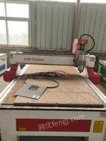 山东临沂出售二手单头雕刻机水冷5.5千瓦 风冷6千瓦一台一拖六浮雕机