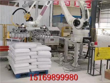 供应码垛机助力粮食产业提升产量实现自动化生产