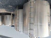转让300L500L1000L啤酒生产设备夹层锅拌馅机