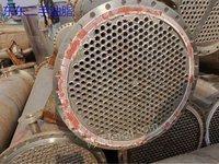 供应二手不锈钢冷凝器 80平方高压冷凝器