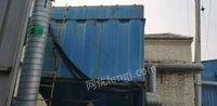 河北沧州200袋脉冲除尘器15千瓦风机低价出售