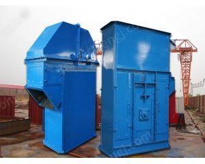 供应工业车间氧化铝粉灌仓密闭斗式提升机 NE板链型石头斗式提升机