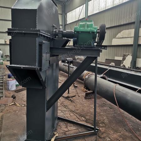 供应斗式提升机 粮食大米板链斗式提升机颗粒物料自动升降运输机