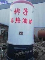 出售一吨燃煤导热油锅炉