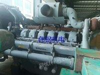 出售二手柴油发电机组帕金斯4012.1000kW