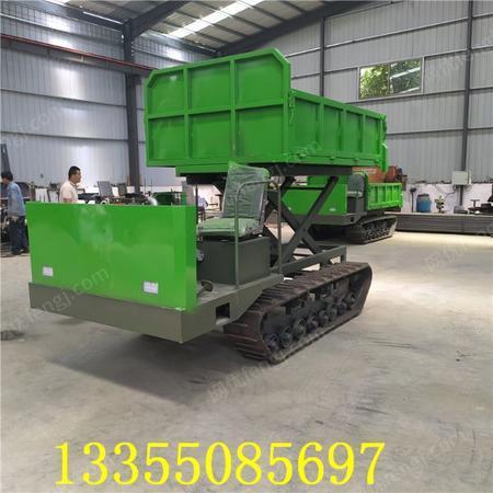 供应新型农用果园履带运输车 全地形爬山虎 4吨型履带运输车