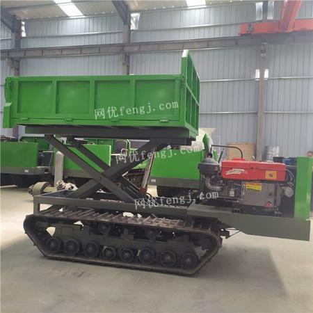 供应山地拉货用履带运输车 4吨自卸履带运输车 全地形履带运输车