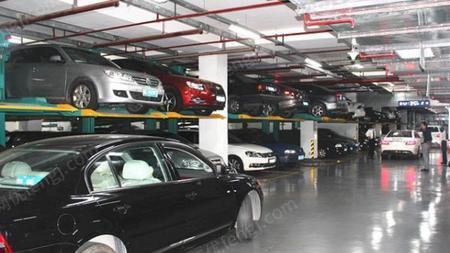 重庆常年回收机械立体车库 两层机械停车位 拆除地下室停车库