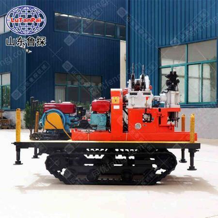 供应YQZD-30型履带式液压轻便钻机回转式钻机勘探钻机液压可 拆解转机工程勘探钻机