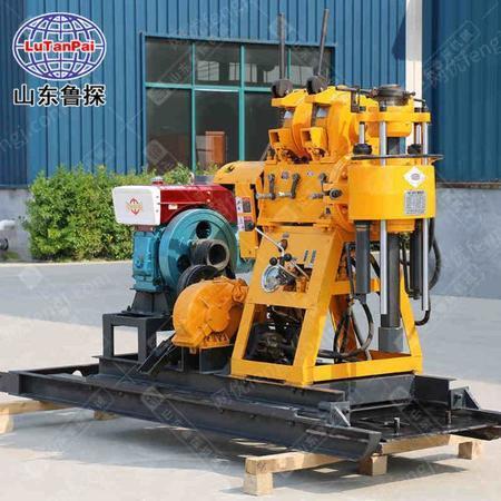 供应200型柴油液压打井机操作全自动 带移机功能 小型钻井机