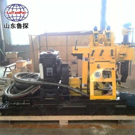 供应山东鲁探 XYX-200轮式勘探钻机 水井钻进设备回转式钻机,勘探钻 机工程钻机