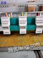Handling second-hand embroidery machines at low prices