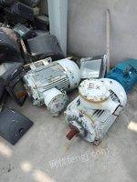 佛山长期回收报废设备,报废电机