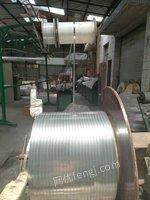 二手汽车空调冷凝器铝扁管生产线转让或找合作伙伴。