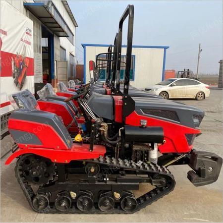 供应田园管理机 小型马力手扶式割草机 履带式微耕机