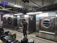 二手洗涤设备百..强狮100公斤洗脱机二手洗衣房设备