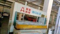 四川成都出售一台木工冷压机 带烤箱