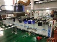 浙江金华现场处理一批板式家具生产线设备