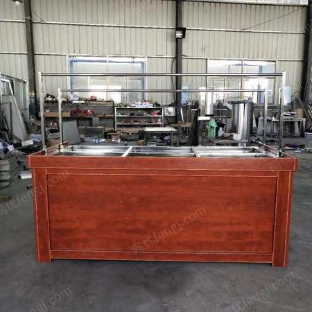 供应现做现卖豆皮生产机店铺小型手工腐竹机