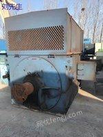 出售二手电动机YR710-4  2500kw 10kv
