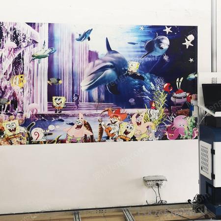 供应大型自动墙体彩绘机器
