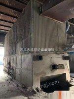 河北沧州出售2016年700万大卡生物质导热油一套,配件手续齐全