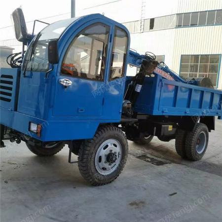 供应山东建筑工程用随车挖 四轮车载式随车挖掘机