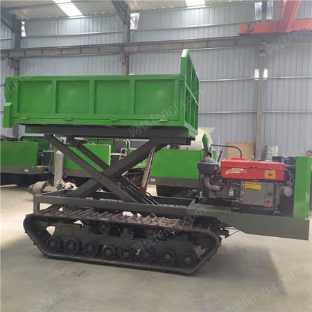 供应4吨履带运输车 山地液压履带运输车 拉土拉树拉木头用履带运输车