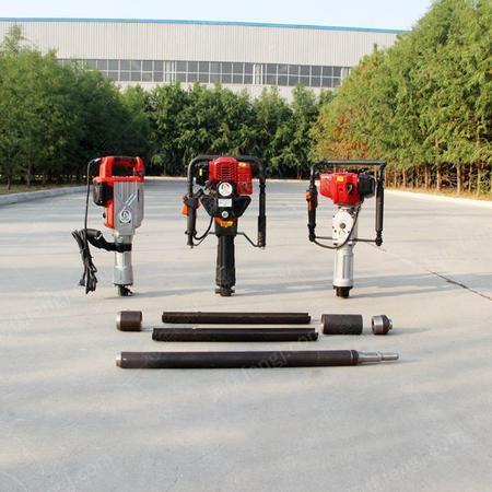 供应15米环保检测土壤取样钻机 小型土壤采杨器冲击式轻便取土钻机