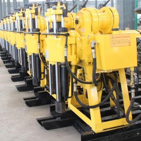 供应百米岩芯地质勘探钻机 HZ-130Y液压水井钻机 小型打井设备
