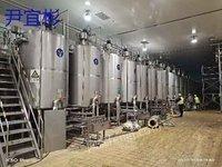 安徽亳州出售58台1吨到15吨乳品发酵罐