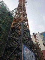 出售12年圣龙5010塔吊60米方管标节