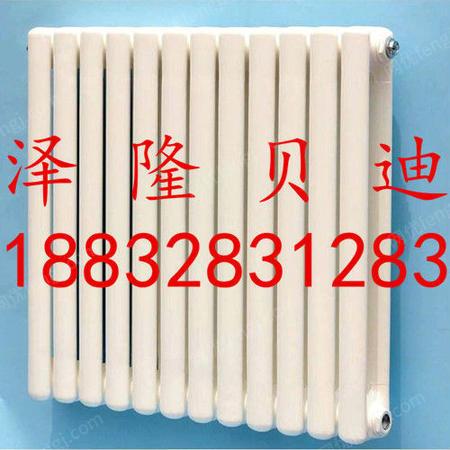 白色钢二柱暖气片