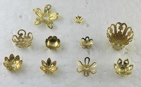供应铜铁花片 铜花帽 铁花帽 铁花托 铜花托 铁花盖