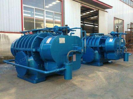 山东大型锅炉冶炼高压水冷罗茨鼓风机