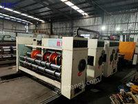 浙江绍兴出售出售2600/420型三色印刷开槽机多台