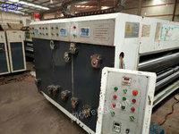 浙江绍兴出售1台2600型双色印刷园模机一台两根新胶辊。大连网纹。