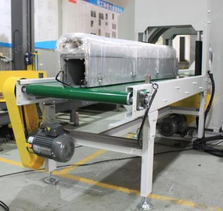 出售全自动水平式缠绕包装机,钢管铝管等货物包装专用设备