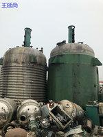 批发二手反应釜 搪瓷反应釜价格 不锈钢反应罐供应