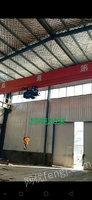 江苏泰州出售1台二手单梁行车20吨 跨度20米