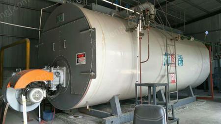 9成新10吨80毫克排低氮燃气锅炉一套