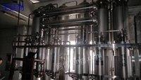 供应二手五效一吨蒸馏水机多台