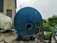 出售二手泰山产4吨16公斤燃气锅炉一台