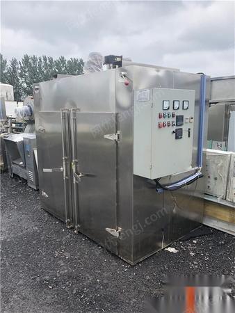 山东济宁长期出售二手电加热烘箱食品烘干设备4门工业热风循环烘箱